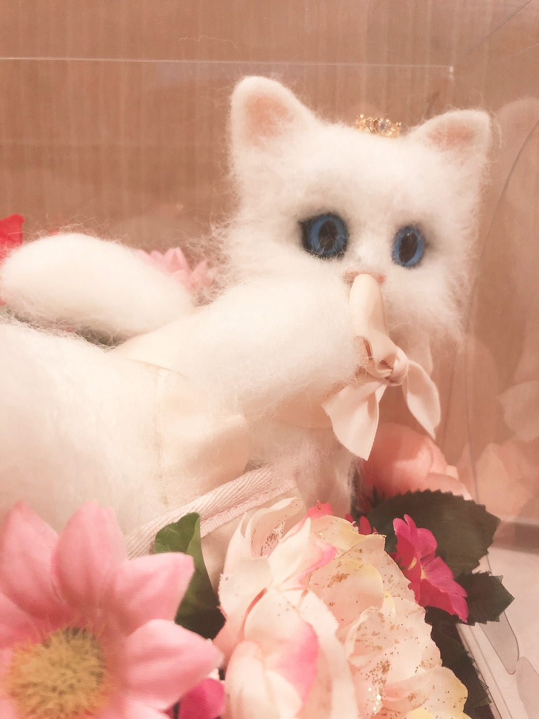 羊毛フェルト トーシューズ 猫