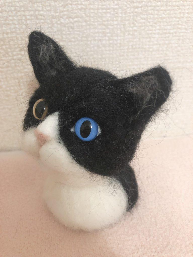 商品一覧 羊毛フェルト ハチワレ猫