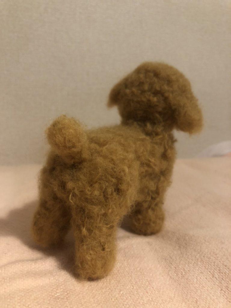 羊毛フェルト 猫 トイプードル