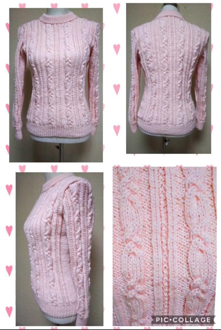 手編みセーター